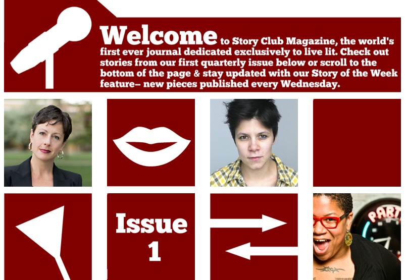 Story Club Magazine's debut issue is available online now.