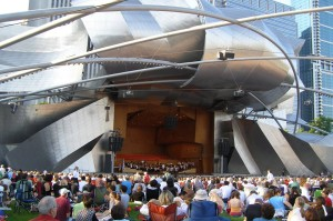 Mondays in Millennium Park (source)