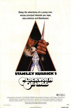 Image of the Clockwork Orange Movie Poster