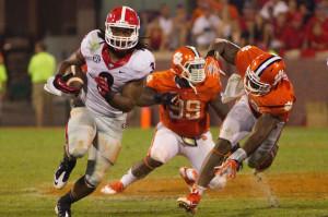Georgia Bulldogs Clemson Tigers Todd Gurley