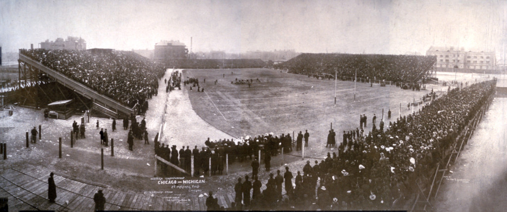 Michigan v. Chicago determined the 1905 title. Despite outscoring all-other opponents 495-0, the Wolverines lost this game 2-0. Thus began National Championship controversy.