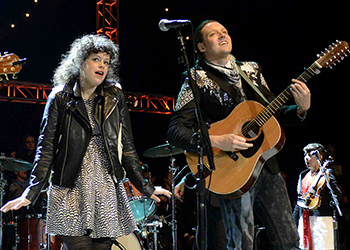 Image of Regine Chassagne and Win Butler