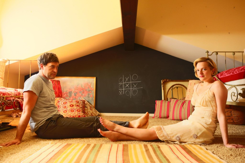 "Mark Duplass and Elizabeth Moss in ""The One I Love"""