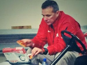 Sad Urban Meyer Ohio State Buckeyes