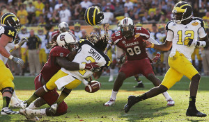 Michigan Wolverines Jadaveon Clowney