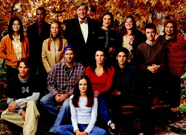 The cast of Gilmore Girls