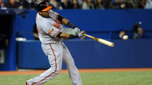 Image of Nelson Cruz of the Baltimore Orioles