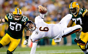 Chicago Bears Jay Cutler Green Bay Packers
