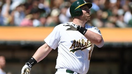 Image of Adam Dunn of the Oakland A's