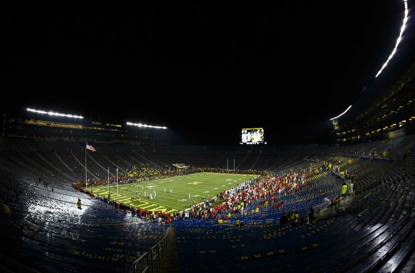 Michigan Stadium Utah Empty