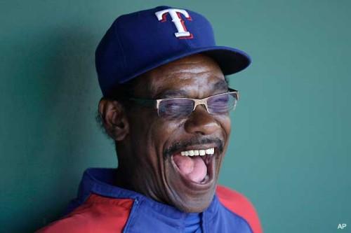 Image of Texas Rangers ex-manager Ron Washington