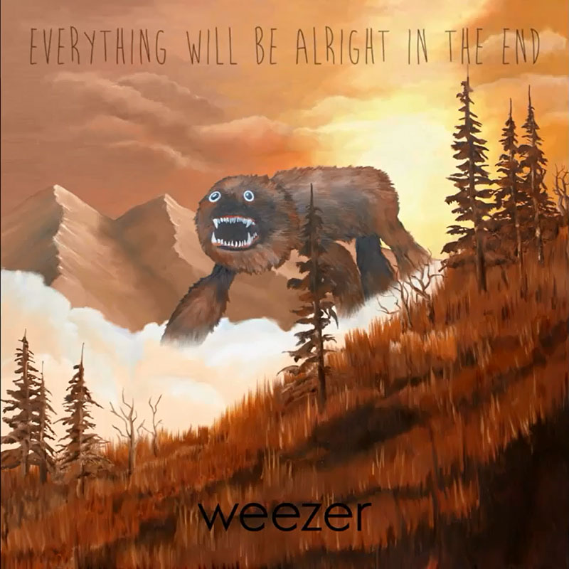 Weezer's latest album came out Oct. 7.