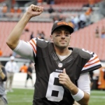 Cleveland's Brian Hoyer (Image via)