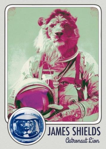 Image of James Shields, Astronaut Lion