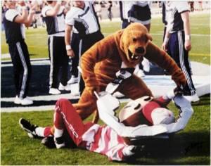 Ohio State Buckeyes Penn State Nittany Lions Brutus Buckeye