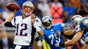 Tom Brady New England Patriots Detroit Lions