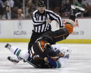 Canucks Ducks Hockey