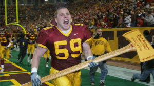 Minnesota Golden Gophers Paul Bunyan's Axe