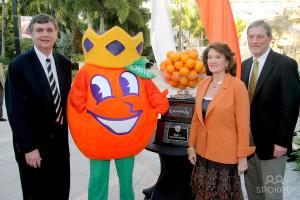 Orange Bowl Mascot Paul Johnson