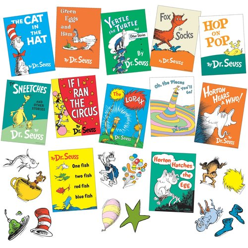 Image of Dr.Seuss books