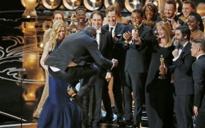 Steve McQueen is a highbrow visual artist and he fucking LEAPED FOR JOY when his film won Best Picture. I'll take that as an endorsement for my article.