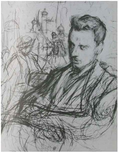 Drawing of Rainer Maria Rilke