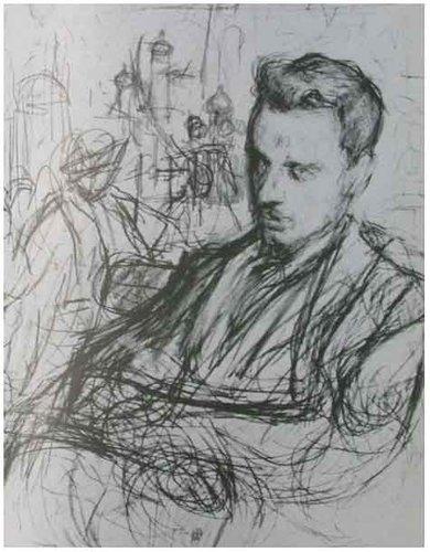 Drawing of Rainer Maria Rilke