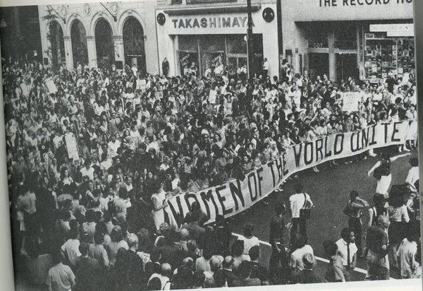 The National Strike for Equality on August 26, 1970
