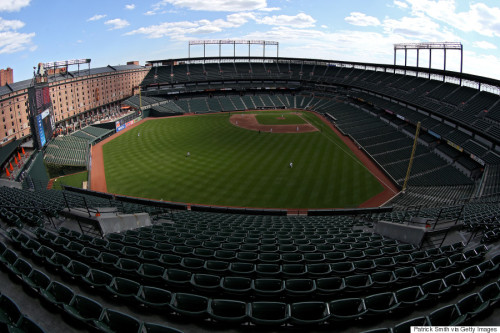 Image of empty Camden Yards