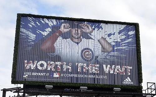 Image of Kris Bryant billboard