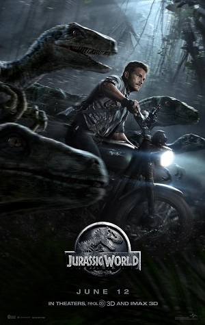 Image of Jurassic World poster