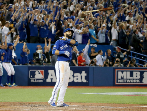 Image of Jose Bautista Bat Flip
