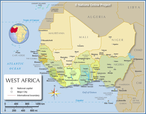 Image of Western Africa