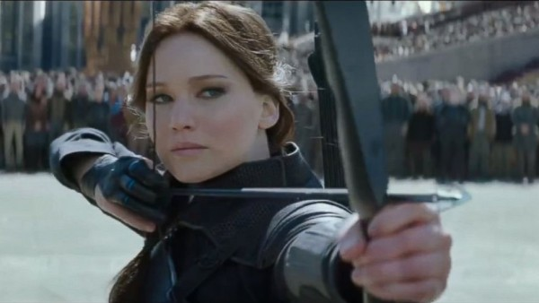 Jennifer Lawrence in Mockingjay Part 2