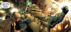 Pretty sure Grakkus is the first Hutt to have six-pack abs.
