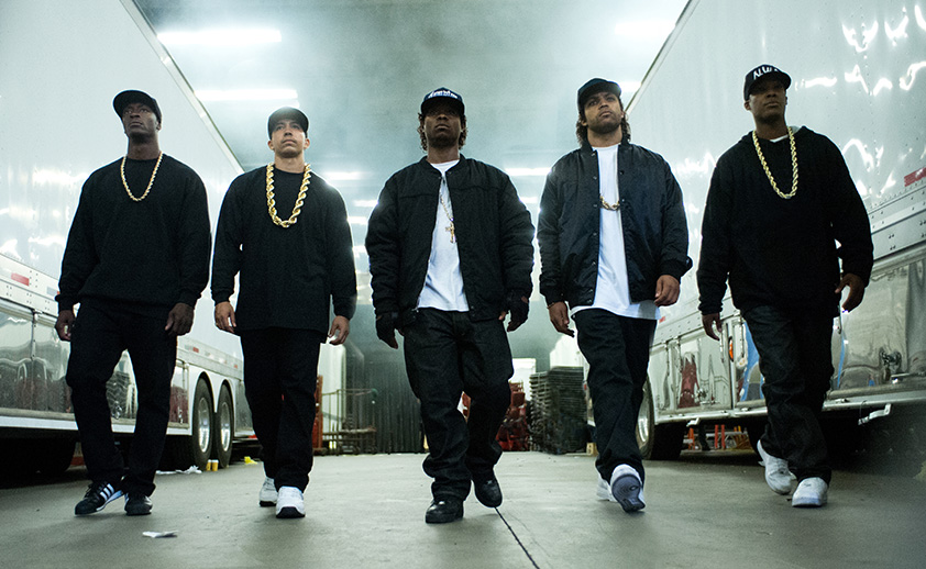 Straight Outta Compton was a critical and popular success but got one measly nomination.