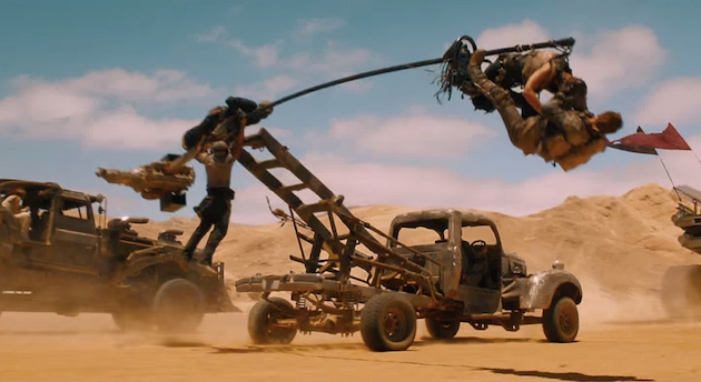 Mad Max Fury Road production design Oscars